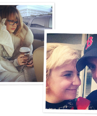 From Taylor Swift's Early Morning Flight to Lena Dunham's Book Tour: The 10 Best Celebrity Instagrams from the Weekend