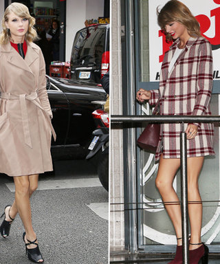 Taylor Swift Has Landed in Paris! Let Her Très Chic Outerwear Inspire You for Fall