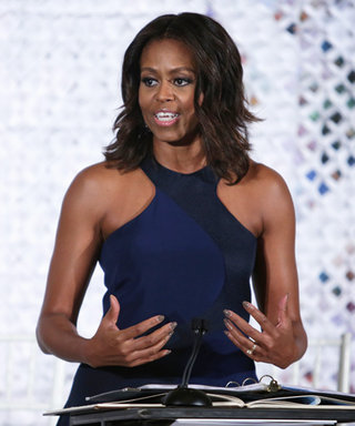 Michelle Obama Hosts a Fashion Education Workshop at the White House