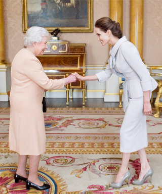 That's Dame to You! Angelina Jolie Accepts the Honorary Title from Queen Elizabeth II