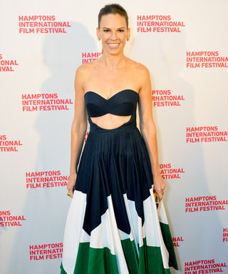A Chat with Hilary Swank at the Hamptons International Film Festival on All Things Red Carpet