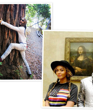 From Beyoncé's Mona Lisa Smile to JaredHugginLeto's Return: The 10 Best Celebrity Instagrams from the Weekend
