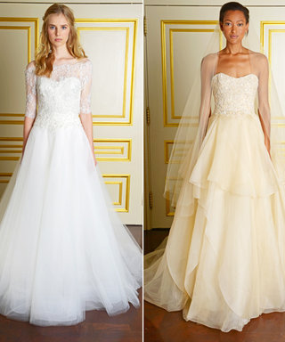 Wedding News: Marchesa Introduces Separates and a Brand New Hue for Brides