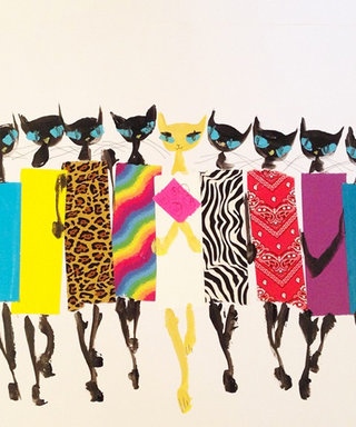 What's Right Meow: Check Out These Cool Cat Illustrations by Donald Drawbertson Robertson!