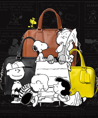 It's the Great Collaboration Charlie Brown! Coach Partners With the Peanuts Gang