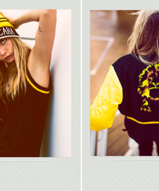 """Cara Delevingne's DKNY Collection Is Here! (It Features Her Tattoos and """"Wacky Ideas"""")"""