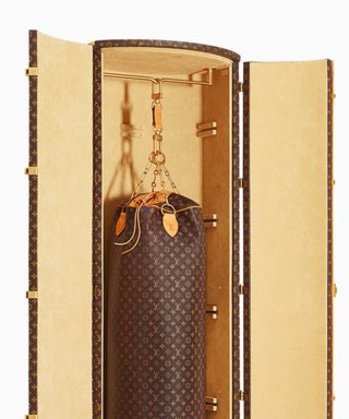 Karl Lagerfeld Designs the Most Expensive Punching Bag Ever for Louis Vuitton