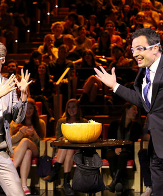 Shailene Woodley Nervously Plays Pumpkin Time Bomb on The Tonight Show