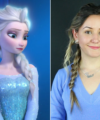 Let It Go! See Our GIF Guide to Creating a Frozen-Inspired Queen Elsa Braid