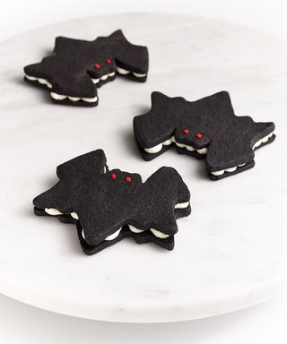Make These Adorable Bat Cookies for Your Halloween Party