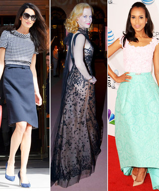 Celebrate Oscar de la Renta's Life by Taking a Look at Celebrities Wearing His Iconic Designs