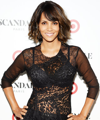 "Halle Berry's Secret to Staying Perky: ""Always Wear a Bra, Even to Bed"""