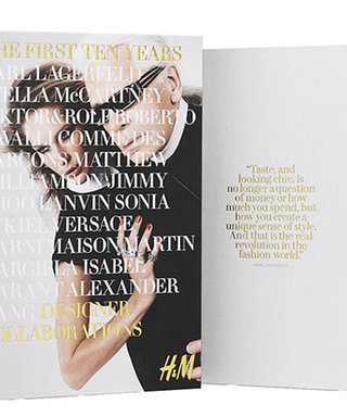 H&M Celebrates 10 Years of Exciting Designer Collaborations with a Commemorative Book