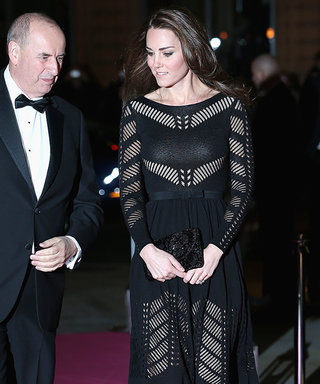 Kate Middleton Wows in aTemperley London Cocktail Dress