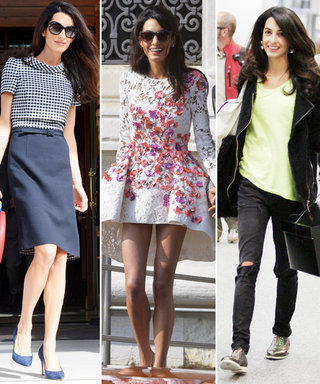 Amal Clooney Is Officially a Style Star! Check Out All Her Fashionable Looks