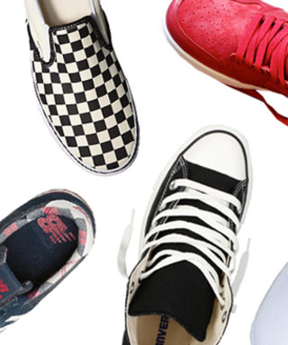 Don't Call It a Comeback! These Style Stars Are Kickin' It Old School With Retro Sneaks