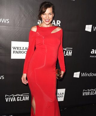 "Milla Jovovich on Her Maternity Style: ""Take Up Less Room"""