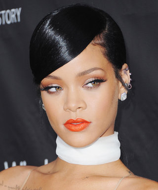 Recreate Rihanna's Gorgeous Low Ponytail from the amFAR Inspiration Gala
