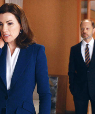 The Good Wife Work Outfit Inspo of the Week: Reach for a Collarless Blouse