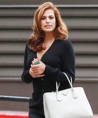 Eva Mendes Looks Incredible for Her Return to Work After Having a Baby