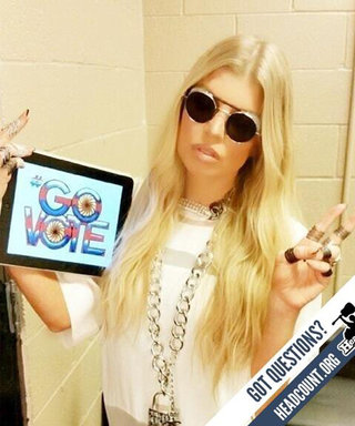 Celebrities Encourage Followers to Rock the Vote on Election Day
