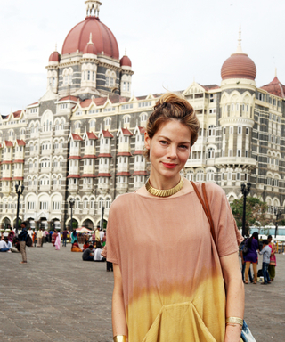 Exclusive! Travel Through India with Michelle Monhagan and Dior Makeup Artist Shane Paish