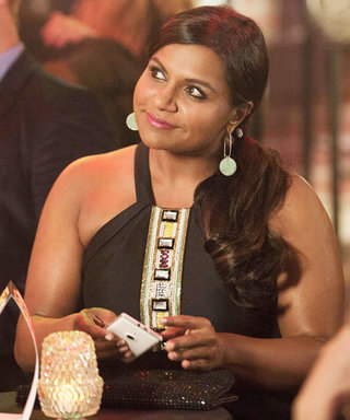 Mindy Kaling Looks Good Even Running Late on This Week's The Mindy Project