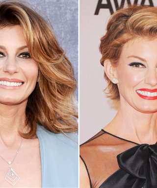 Faith Hill Unveils a Bold New Pixie Cut at the CMAs