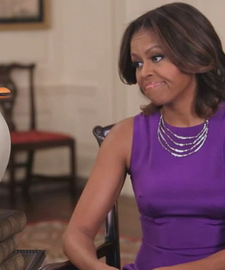 Michelle Obama Teams Up with the Penguins of Madagascar for Veterans Day