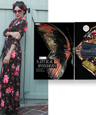 #InspiredByInStyle: Reader of the Week Lisa Martinez on How to Style Floral Prints in the Fall