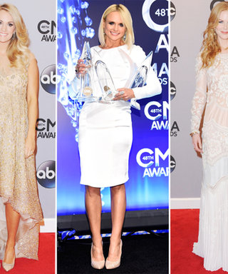 This Week's Wow: The CMA Red Carpet Reaches New Heights, and We Don't Mean the Hair