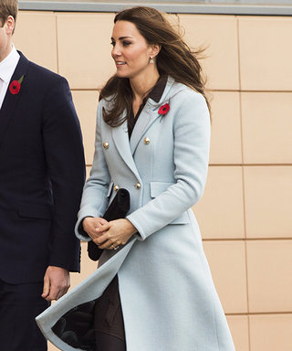 Kate Middleton Is Pretty in Powder Blue