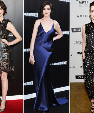 Happy 32nd Birthday, Anne Hathaway! See the Starlet's Best Looks Yet