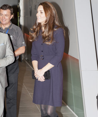 Spotted! Kate Middleton Shows Off Her Barely-There Baby Bump