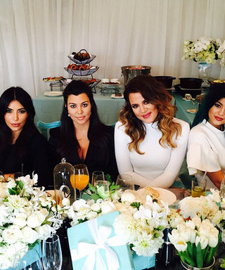 Kourtney Kardashian Has a Breakfast at Tiffany's-Themed Baby Shower