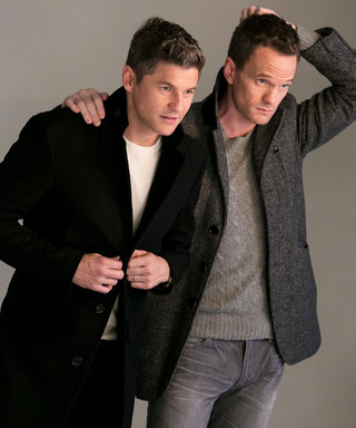What Really Went Down At Neil Patrick Harris and David Burtka's London Fog Photo Shoot
