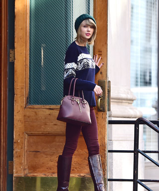 Top Off Your Cold-Weather Look: Pick Up Taylor Swift's $26 Cable-Knit Beanie