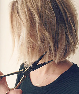 Lauren Conrad Chops Her Hair (Again!) Into an Edgy Bob
