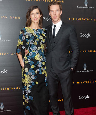 Benedict Cumberbatch and Sophie Hunter Make Their Red Carpet Debut as Fiancés