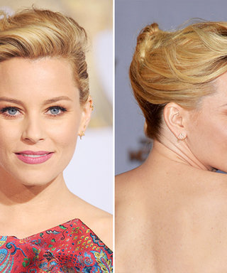 Exclusive! Elizabeth Banks's Hairstylist Reveals Exactly How to Recreate Her Graphic Updo