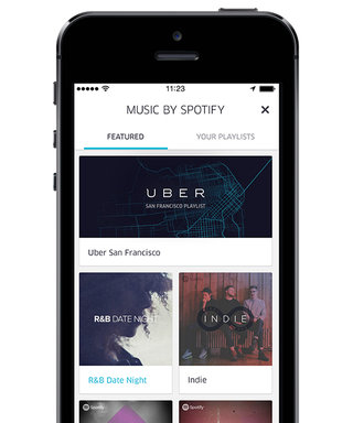 Tech, Yeah! Spotify and Uber Now Let You Create Personalized Playlists for Your Ride
