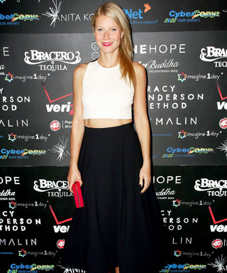 Gwyneth Paltrow Flaunts Her Toned Abs In a Crop Top