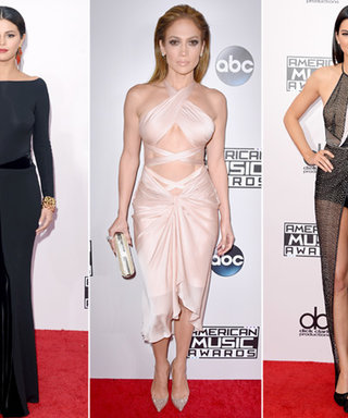 Relive the Most Unforgettable Red Carpet Looks from the 2014 American Music Awards
