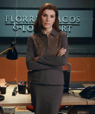 The Good Wife Work Outfit Inspo of the Week: Break Out the Suede