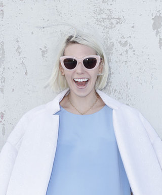 Girls Star Zosia Mamet Designs Ultra-Glam Sunglasses with Cynthia Rowley