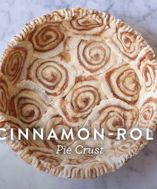 Kick Up Your Thanksgiving Pie with This Recipe for Cinnamon-Roll Crust