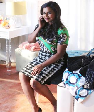 Mindy Kaling Is Mad for Plaid (and Prints!) on This Week's The Mindy Project