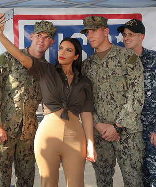 Lunchtime Links: Kim Kardashian Visits Troops in Abu Dhabi, Plus More Must-Reads