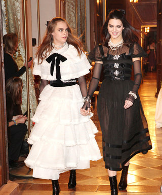 Cara Delevingne and Kendall Jenner Close Chanel's Métiers d'Art Show Hand in Hand