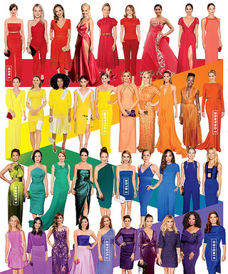 The Style 100: From Red to Violet, Here Is 2014's Rainbow of the Best Red-Carpet Looks